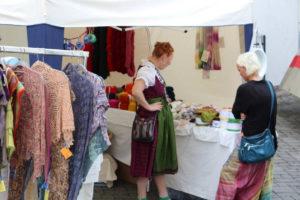 Verkaufsstand in Asbach